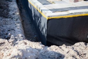Waterproofing a home foundation in Beaverton